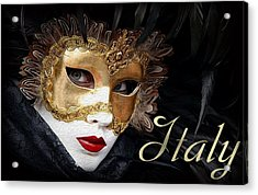 Italy Painting Acrylic Print