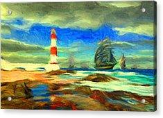 Itapua Lighthouse 1 Acrylic Print
