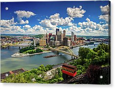 Acrylic Print featuring the photograph It's A Beautiful Day In The Neighborhood by Emmanuel Panagiotakis