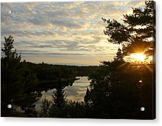 Acrylic Print featuring the photograph It's A Beautiful Morning by Debbie Oppermann
