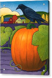 Its A Great Pumpkin Acrylic Print