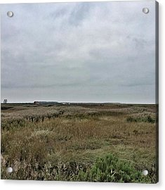 It's A Grey Day In North Norfolk Today Acrylic Print by John Edwards
