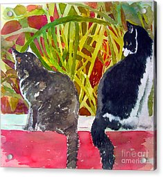 It's A Jungle Out There Acrylic Print