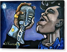 It's A Mans World- James Brown Acrylic Print