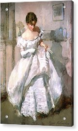 It's All About The Dress Acrylic Print by Pennie McCracken