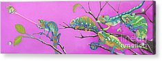 Its All Just An Illusion Acrylic Print by Tracy L Teeter