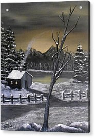 It's Cold Outside Acrylic Print