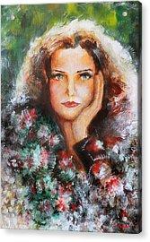 Flora Acrylic Print