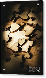 Its Complicated Acrylic Print by Jorgo Photography - Wall Art Gallery