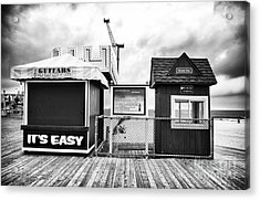 Its Easy Acrylic Print by John Rizzuto