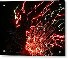 Its Electric Acrylic Print by James and Vickie Rankin