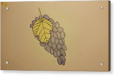 It's Just Grapes... Acrylic Print by Andrew Rice