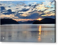 Its Morning Acrylic Print by Terence Davis