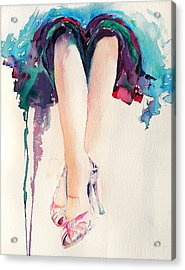 It's Party Time Acrylic Print by Stephie Butler