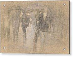 It's Raining In Georgia Acrylic Print by Angela A Stanton
