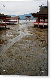 Itsukushima Shrine And Torii Gate Acrylic Print