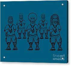 Iuic Soldier 1 W/outline Acrylic Print
