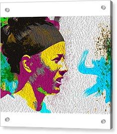 @iupui @iupui_jaguars @iupuisoftball Acrylic Print