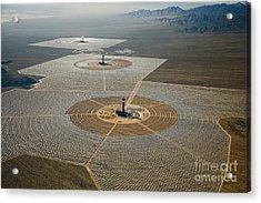 Ivanpah Solar Power Plant Acrylic Print