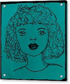 Ivy Acrylic Print by Aimee Fields