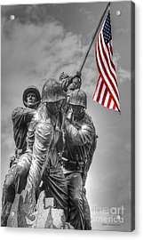 Iwo Jima Acrylic Print