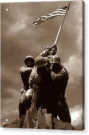 Iwo Jima War Memorial Washington Acrylic Print