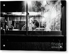 Acrylic Print featuring the photograph Izakaya Steam by Dean Harte