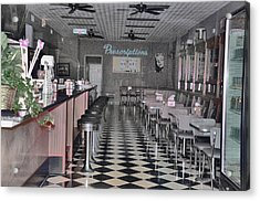 Izzo's Drugstore Acrylic Print by Jan Amiss Photography