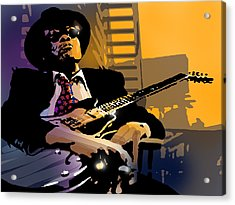J L Hooker Acrylic Print by Paul Sachtleben