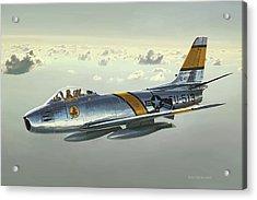 Jabby Jabara Acrylic Print
