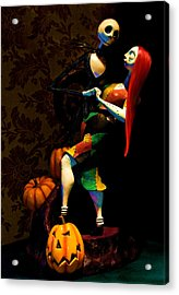 Jack And Sally Acrylic Print by Thanh Thuy Nguyen