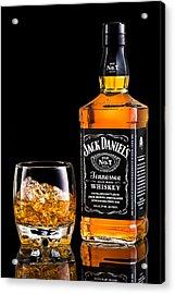 Jack Daniel's Acrylic Print by Mihai Andritoiu