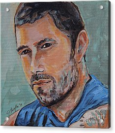 Jack From Lost Acrylic Print by Jeanne Forsythe