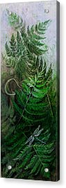 Jack In The Pulpit Acrylic Print by Sandy Clift