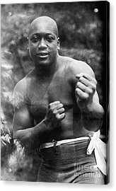 Jack Johnson (1878-1946) Acrylic Print by Granger