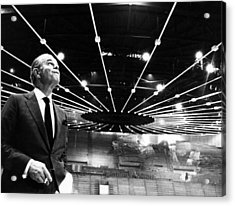 Jack Kent Cooke In The Forum Sports Acrylic Print by Everett