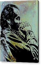 Jack Nicholson Acrylic Print by Giuseppe Cristiano