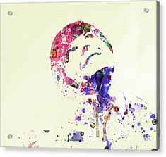 Jack Nicholson Acrylic Print by Naxart Studio