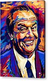 Jack Nicholson  Acrylic Print