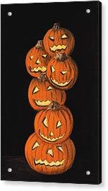Jack-o-lantern Acrylic Print