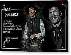 Jack  Palance Acrylic Print