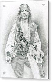 Jack Sparrow, Bring Me The Horizon Acrylic Print