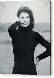 Jackie Kennedy - Painting Acrylic Print