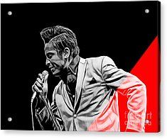 Jackie Wilson Collection Acrylic Print by Marvin Blaine