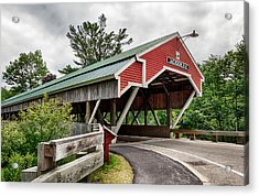 Jackson Covered Bridge Acrylic Print