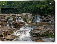 Acrylic Print featuring the photograph Jackson Falls by Cindy Lark Hartman