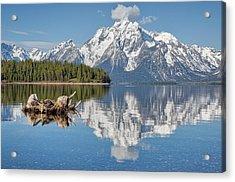 Jackson Lake, Gtnp Acrylic Print