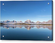 Acrylic Print featuring the photograph Jackson Lake by Mary Hone