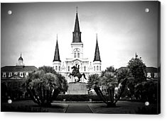 Jackson Square 2 Acrylic Print by Perry Webster
