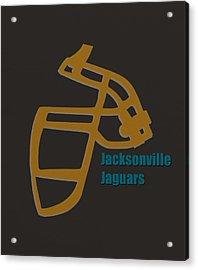 Jacksonville Jaguars Retro Acrylic Print